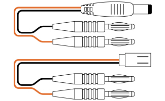 RX - TX Charge Leads