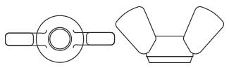 Wing Nuts - DIN315 Nylon