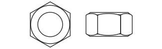 Hexagon Nuts - DIN934 Nylon