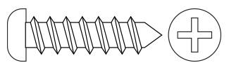 Philips Pan Head T/P Screws - DIN7981 Steel